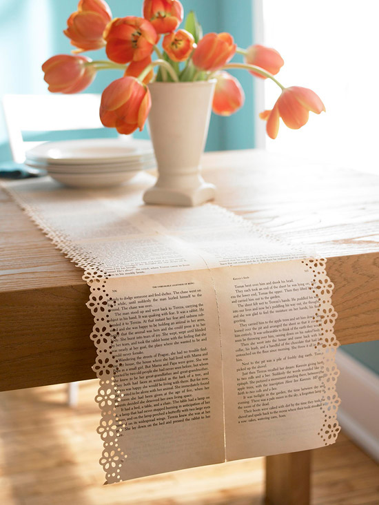 http://www.bhg.com/decorating/do-it-yourself/fabric-paper-projects/stylish-projects-from-vintage-books/#page=5
