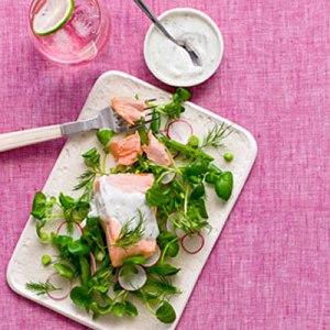 poached-salmon-watercress