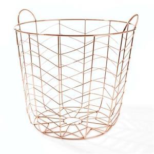 Kmart Copper Coloured Basket