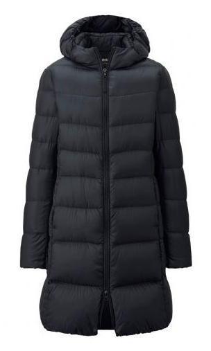Uniqlo Women Ultra Light Down Hooded Coat